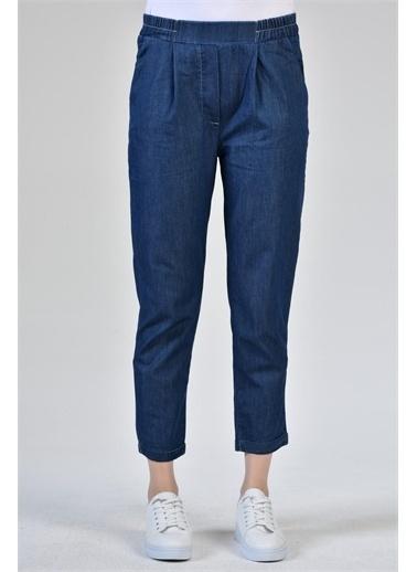 Rodi Jeans Kadın Denim Havuç Paça Pantolon DS21YB016511 Mavi